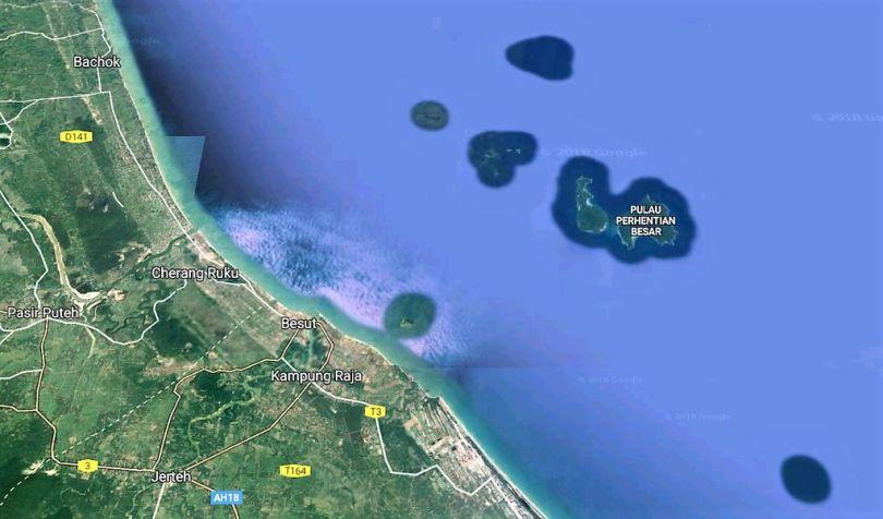 Les îles Perentians en Malaisie