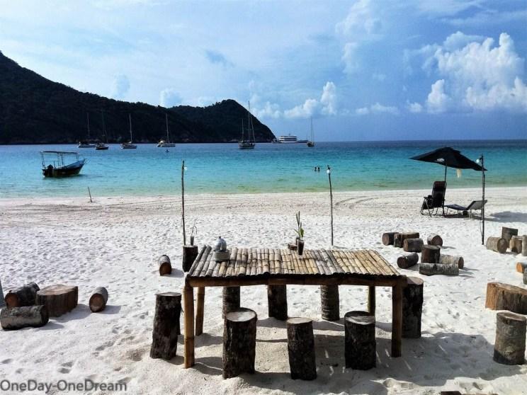Redang public beach