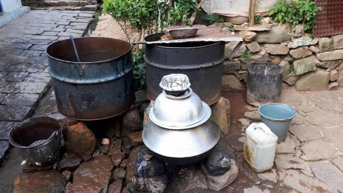 Tea worker village
