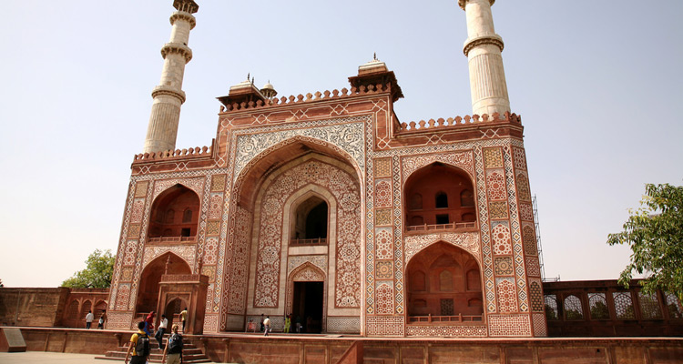 One Day Agra Local Sightseeing Trip by Car Sikandra Fort