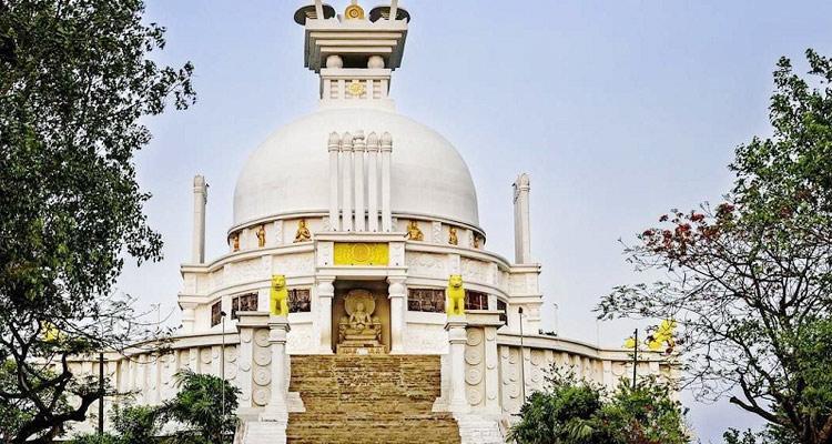 One Day Bhubaneswar Local Sightseeing Trip by Car Dhauli Buddhist Monastery