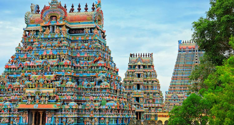 One Day Chennai Local Sightseeing Trip by Car Kapaleeshwar Temple