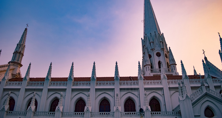 One Day Chennai Local Sightseeing Trip by Car Saint Thomas Church