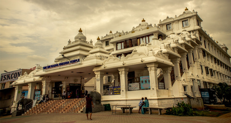 One Day Chennai to Mahabalipuram Trip by Car ISKCON Temple