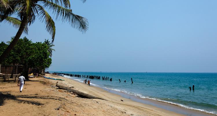 One Day Chennai to Pondicherry Trip by Car Auro Beach