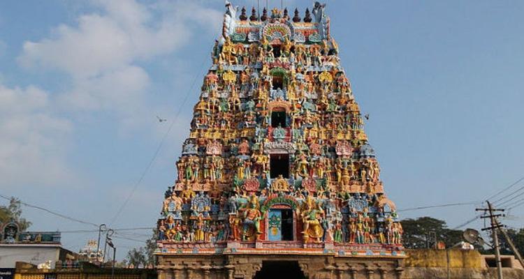 One Day Chennai to Thirunallar Trip by Car Kailasanathar Temple