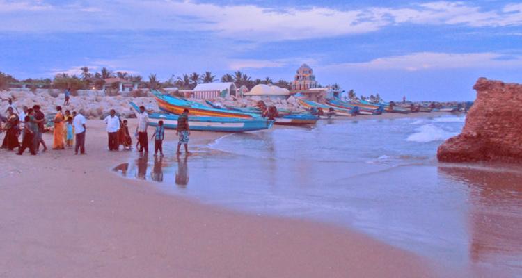 One Day Chennai to Thirunallar Trip by Car Karaikal Beach