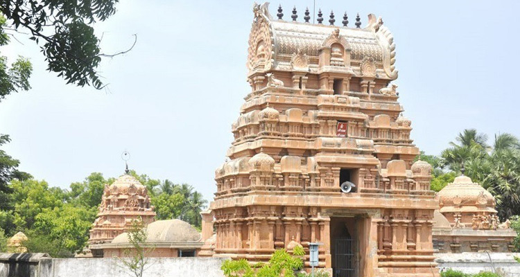 One Day Chennai to Thirunallar Trip by Car Sri Parvatheeswara Temple
