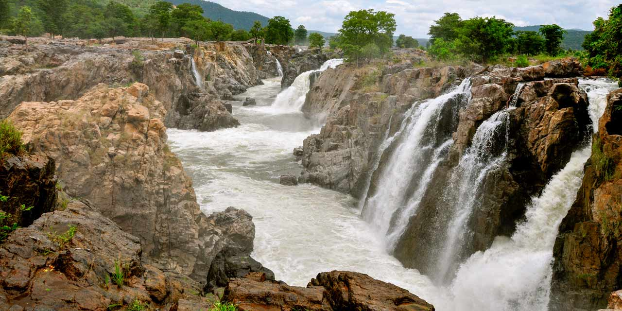 One Day Coimbatore to Hognekkal Waterfalls Trip by Car Header