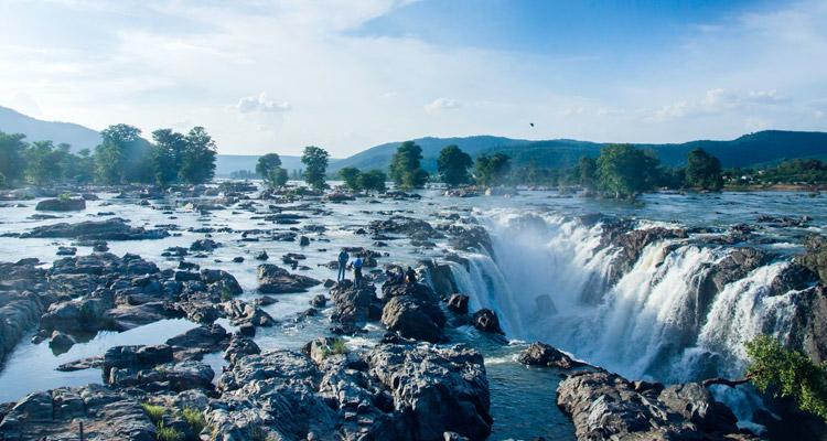 One Day Coimbatore to Hogenakkal Waterfalls Trip