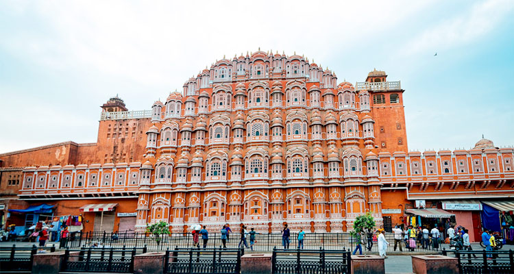 One Day Delhi to Jaipur Trip by Car Hawa Mahal