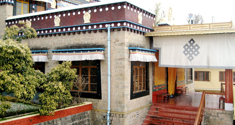 One Day Dharamshala Local Sightseeing Trip by Car Namgyal Monastery