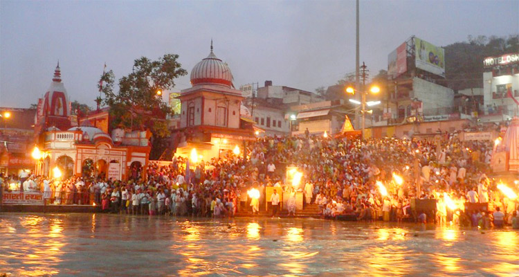 One Day Haridwar and Rishikesh Local Sightseeing Trip by Car Ganga Aarti