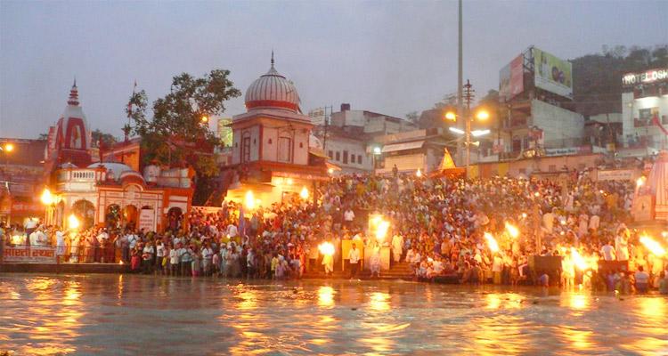One Day Haridwar and Rishikesh Local Sightseeing Trip by Car Ganga Aarti