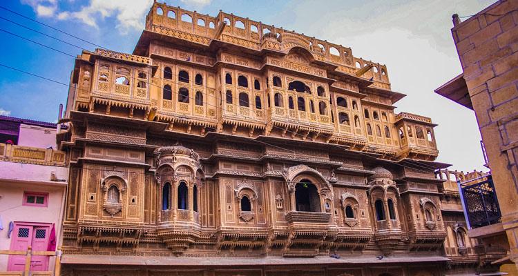 One Day Jaisalmer Local Sightseeing Trip by Car  Nathmal Ji ki Haveli