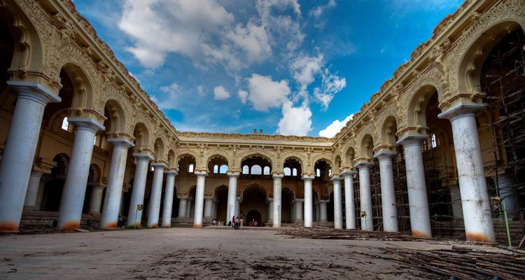 One Day Madurai Local Sightseeing Trip by Car Thirumalai Nayak Palace