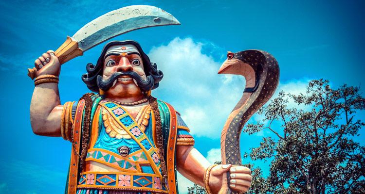 One Day Mysore Local Sightseeing Trip by Car Mahishasura Statue
