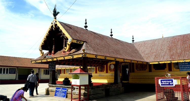 One Day Mysore to Coorg Trip by Car Sri Bhagandeshwara Temple