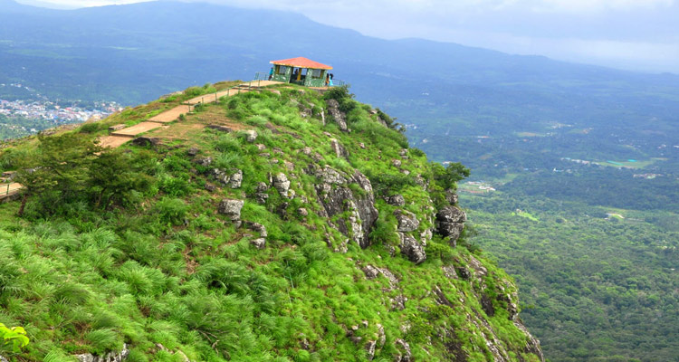 One Day Mysore to Ooty Trip by Car Needle Rock View Point
