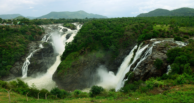 Package Glimpse One Day Mysore to Shivanasamudra Falls Trip by Car