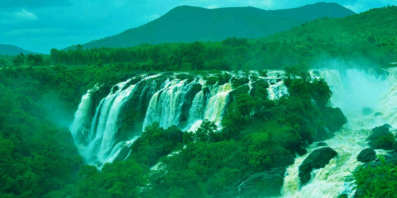1 Day Mysore to Shivanasamudra Falls Tour