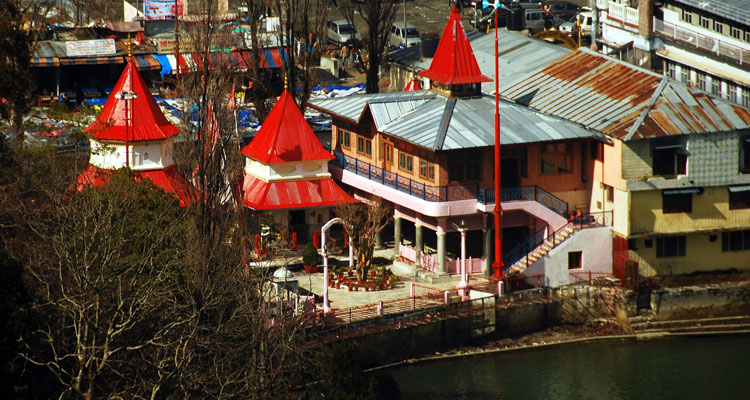 One Day Nainital Local Sightseeing Trip by Car Naina Devi Temple