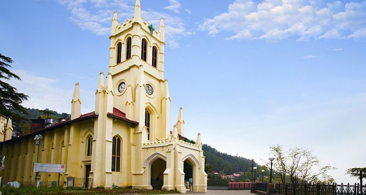 One Day Shimla Local Sightseeing Trip by Car Church