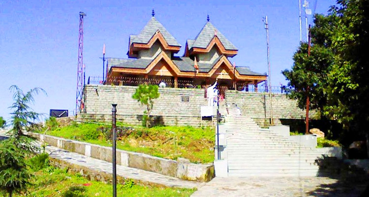 One Day Shimla Local Sightseeing Trip by Car Tara Devi Temple