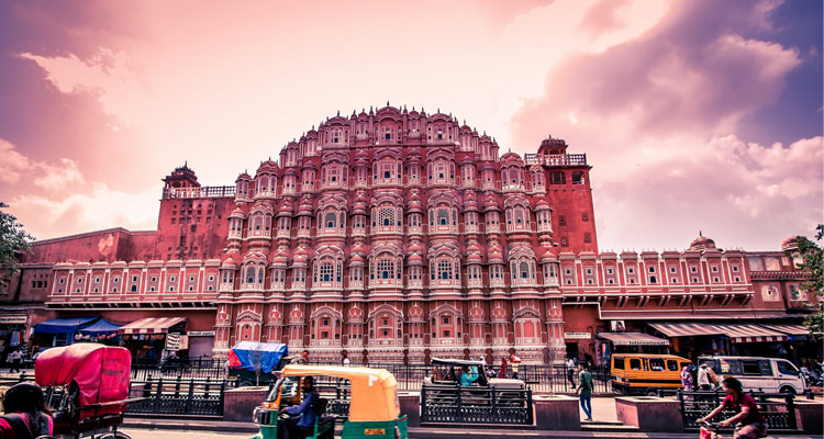 1 Day Delhi to Jaipur Tour by Cab The Hawa Mahal Jaipur