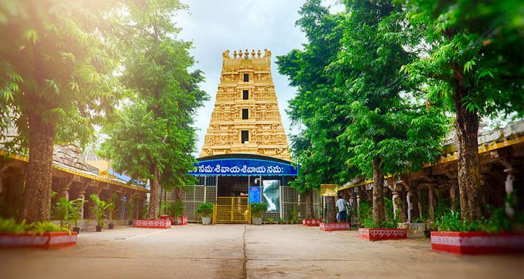 1 Day Hyderabad to Srisailam Mallikarjuna Tour by Cab Bhramaramba Mallikarjuna Swamy Temple