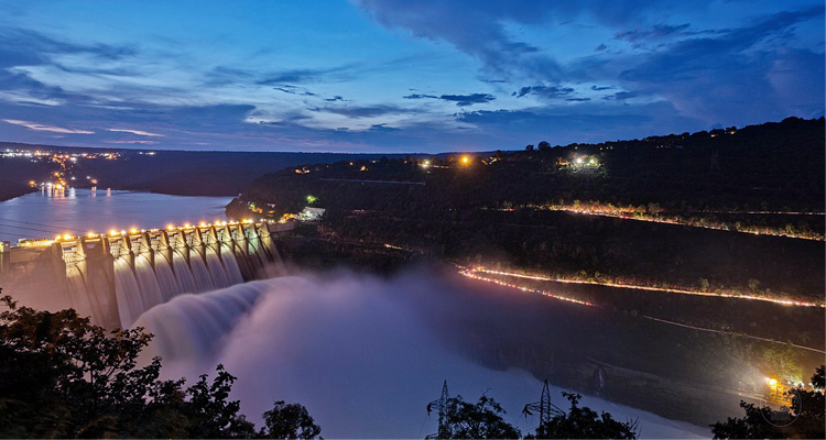 1 Day Hyderabad to Srisailam Mallikarjuna Tour by Cab Srisailam Dam