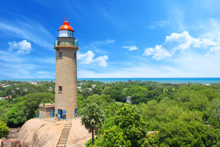 LightHouse with 1 Day Chennai to Mahabalipuram & Kanchipuram Trip by Car