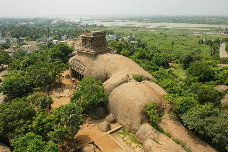 Mahishamardini Cave with 1 Day Chennai to Mahabalipuram & Kanchipuram Trip by Car