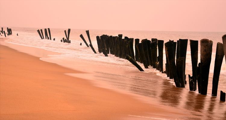 1 Day Chennai to Pondicherry Tour by Cab Auro Beach