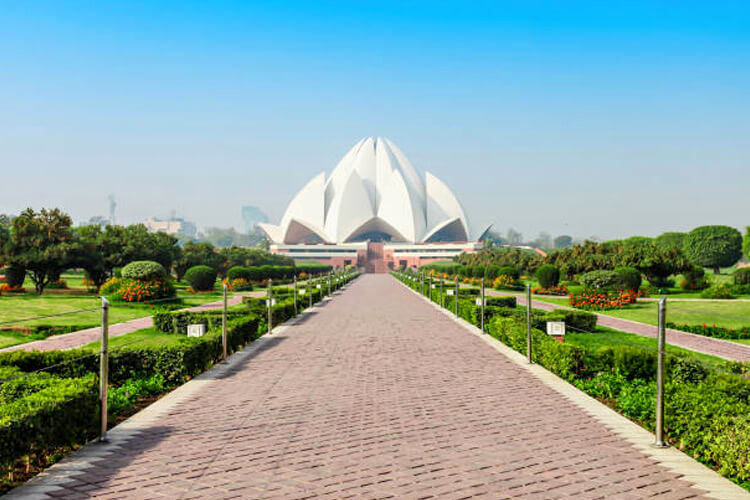 Lotus Temple with 1 Day Delhi Local Sightseeing Trip by Cab