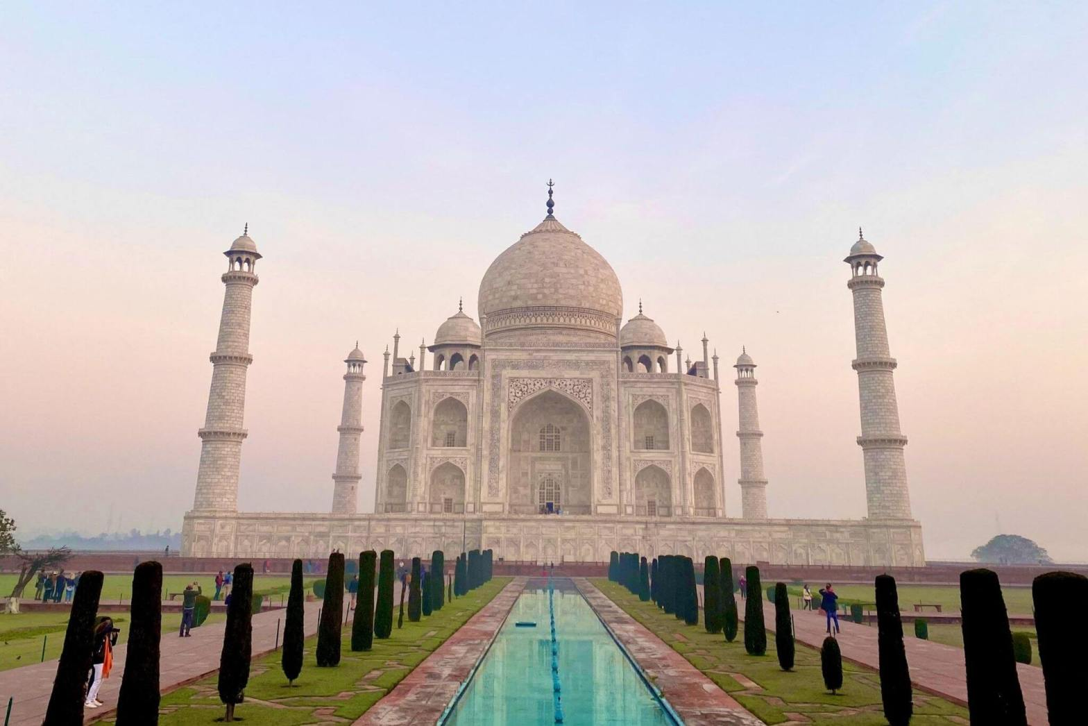 One Day Ghaziabad to Agra Trip by Car Heaader