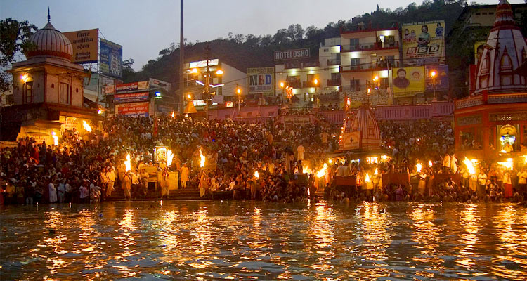 1 Day Haridwar & Rishikesh Local Sightseeing Tour by Cab Har ki Pauri and Ganga Aarti