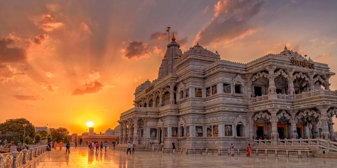 1 Day Delhi to Mathura & Vrindavan Tour by Cab