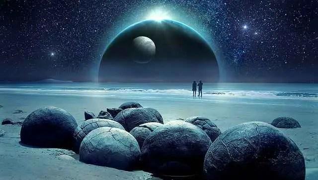 fantasy occen moon