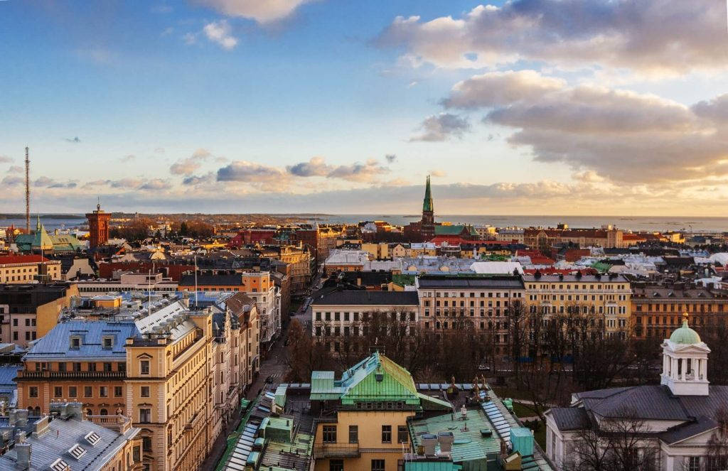 Aerial View of Helsinki - One Day In Helsinki