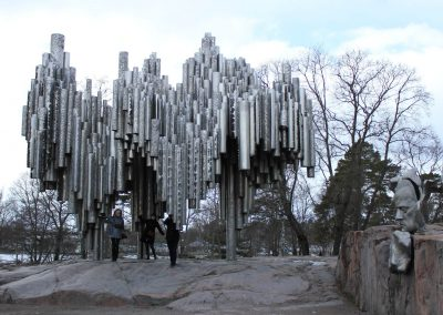 Sibelius Monument - One Day In Helsinki