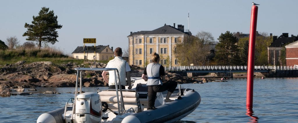 Private archipelago experience in Helsinki
