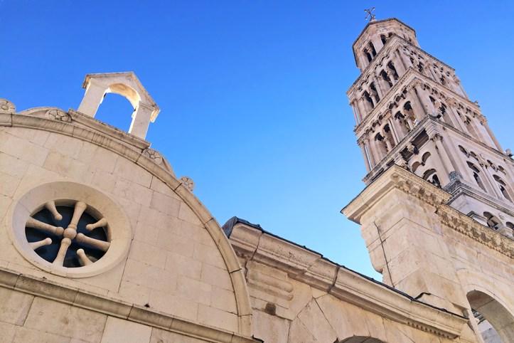 Split Saint Domnius Cathedral Bell Tower