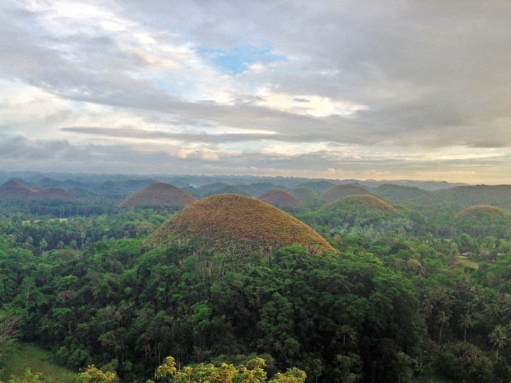 Chocolate Mountains Bohol Attractions