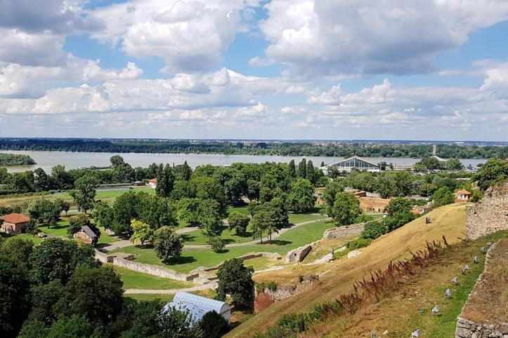 Danube and Sava Confluence