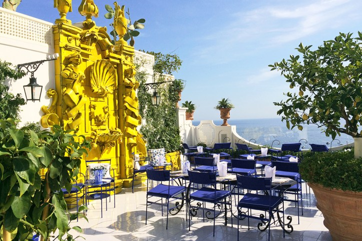 Positano Cafe Bar Terrace