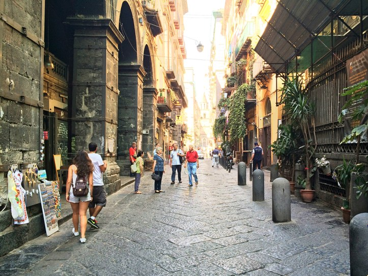 Spaccanapoli Street Naples