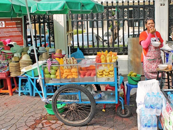 Fresh Fruit Stalls in Bangkok