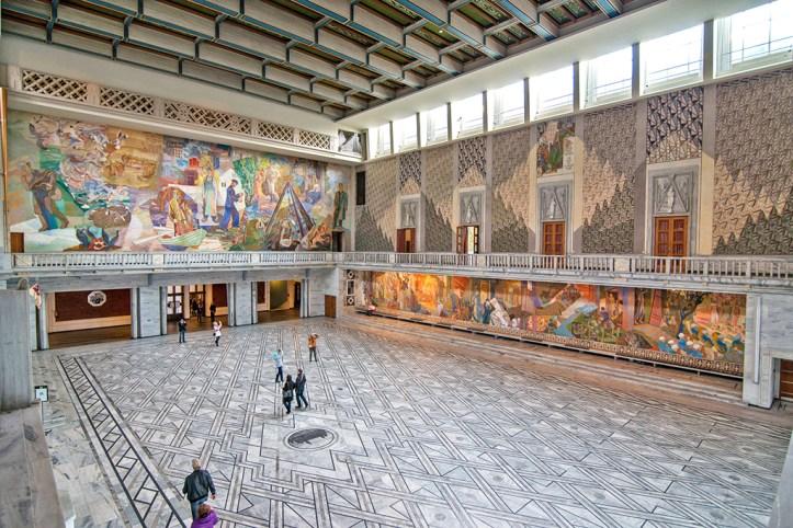 Oslo City Hall Interior