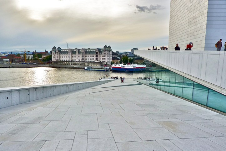 Oslo View From The Opera House